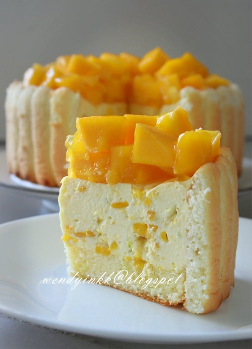 Table for 2.... or more: Mango Cheese Charlotte -No Bake ...