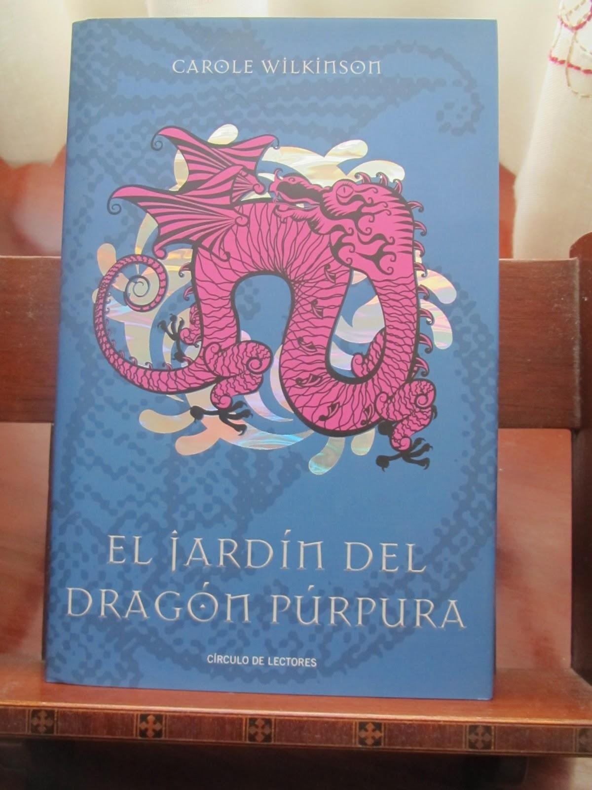Nuestra biblioteca el jard n del drag n p rpura for El jardin de los dragones