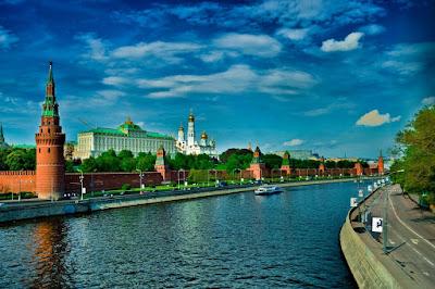 Postales de Rusia - El Kremlin - Sede del Gobierno Ruso