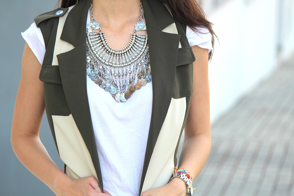 peexo fashion blogger wearing longline trench summer