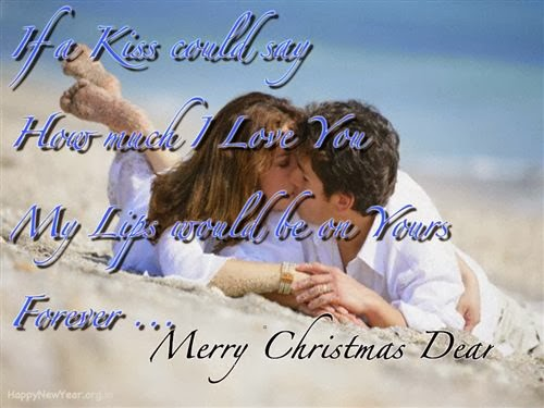Romantic Christmas Greeting Messages For Boyfriends 2013