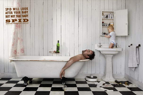 Spid Advertising Photographer controversial print ad
