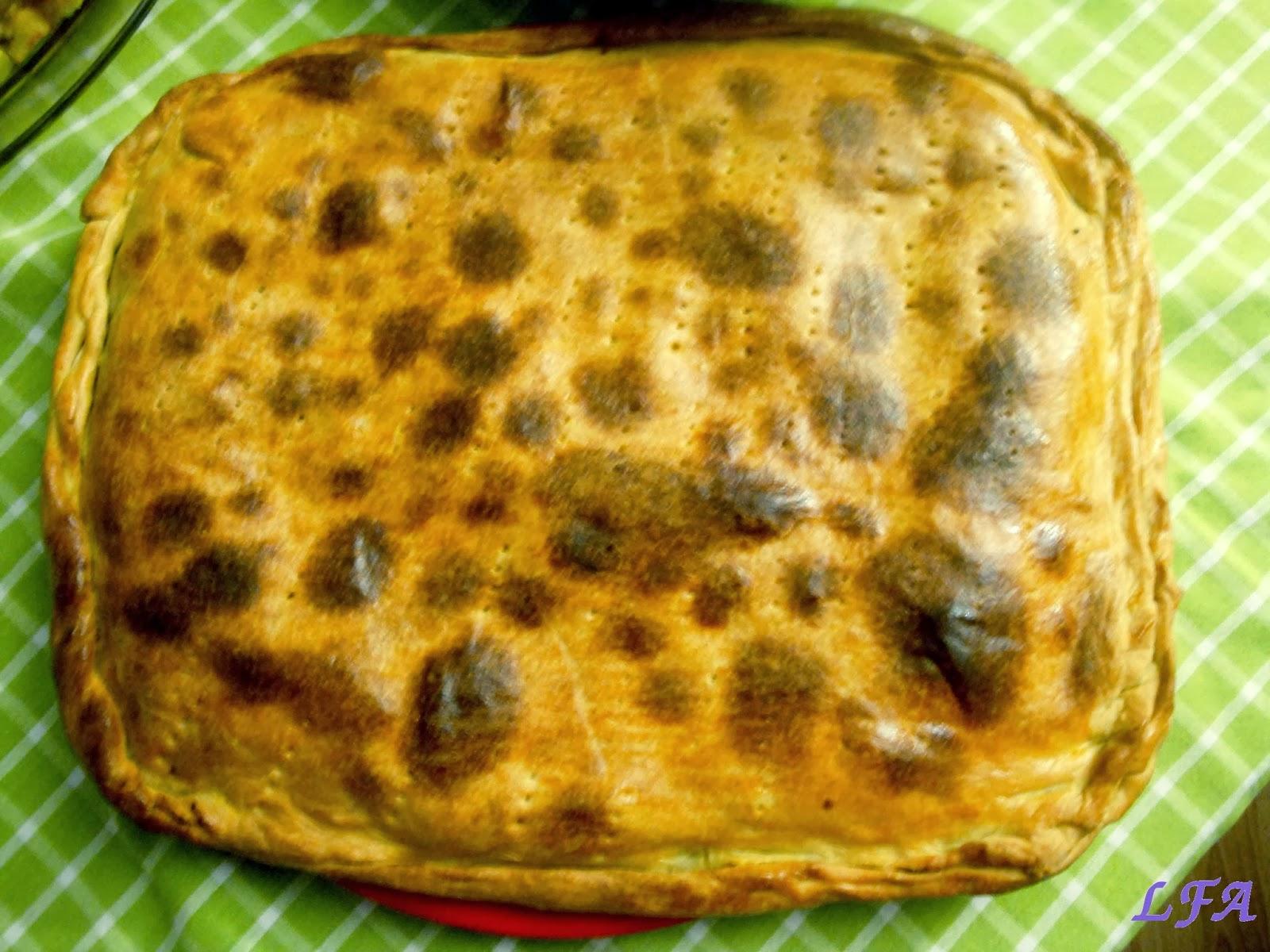 Empanada de atun y mejillones