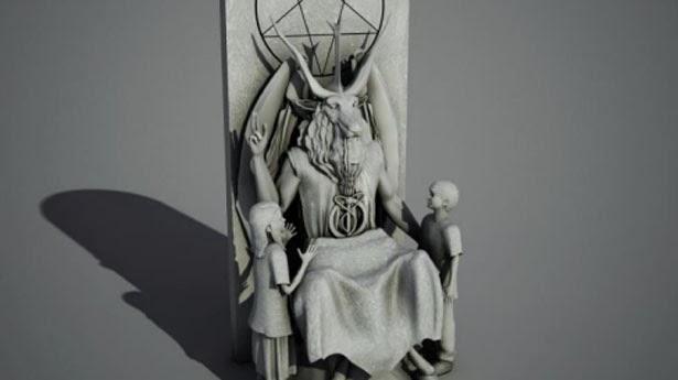 La Statua del Diavolo del Tempio Satanico
