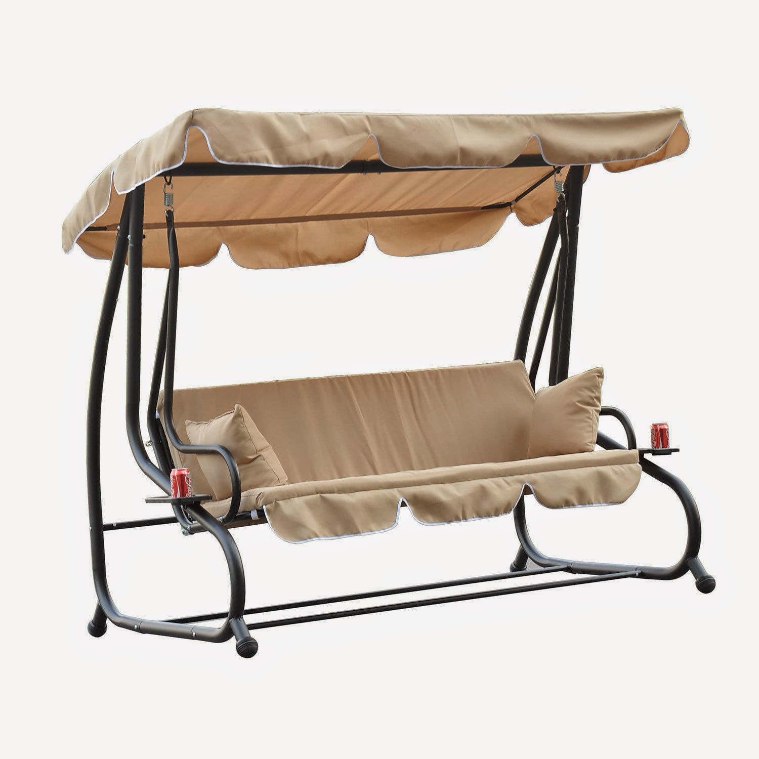 2 Person Patio Swing With Canopy Instant Knowledge
