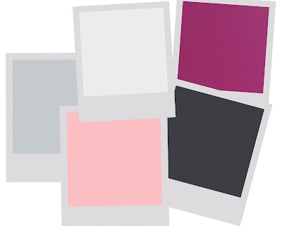 Creative influences color scheme pink gray white and black - Grey and red colour scheme ...