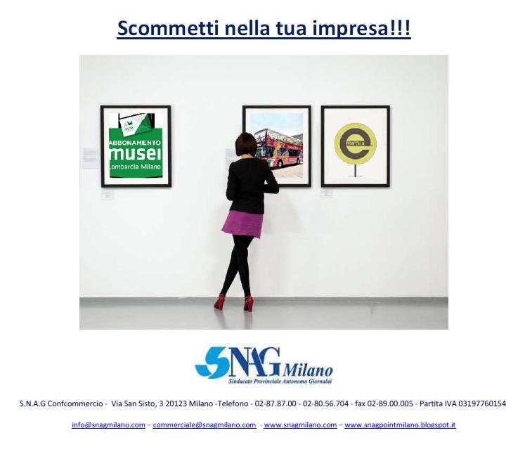 SNAG Milano  - Prodotti