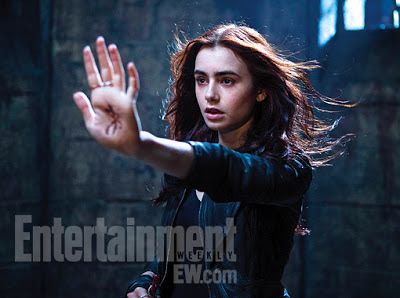 The Mortal Instruments Lilly Collins as Clary Fray