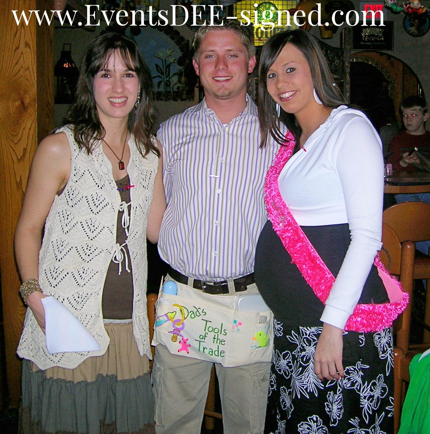 eventsdee signed co ed baby shower mom dad host