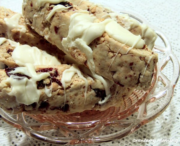 Cranberry Morning: Cherry Almond Biscotti - Recipe
