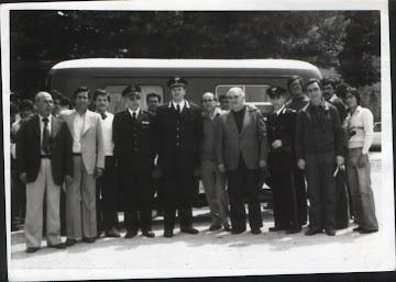 1973 - Con il collega Luigi D'Abrosca e l'Assesore Mario Palombi
