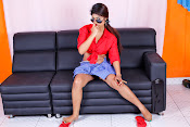 Charulatha Hot Photo shoot in Lungi-thumbnail-17