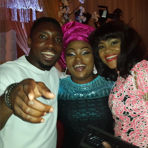 funke akindele dr sid wedding