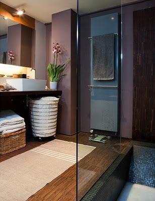 Espectaculares dise os de peque os ba os ideas para decorar dise ar y mejorar tu casa - Badkamer deco zen ...