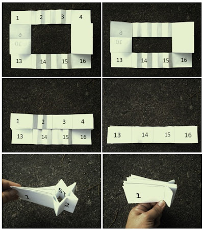 how to make a small booklet using a4 paper