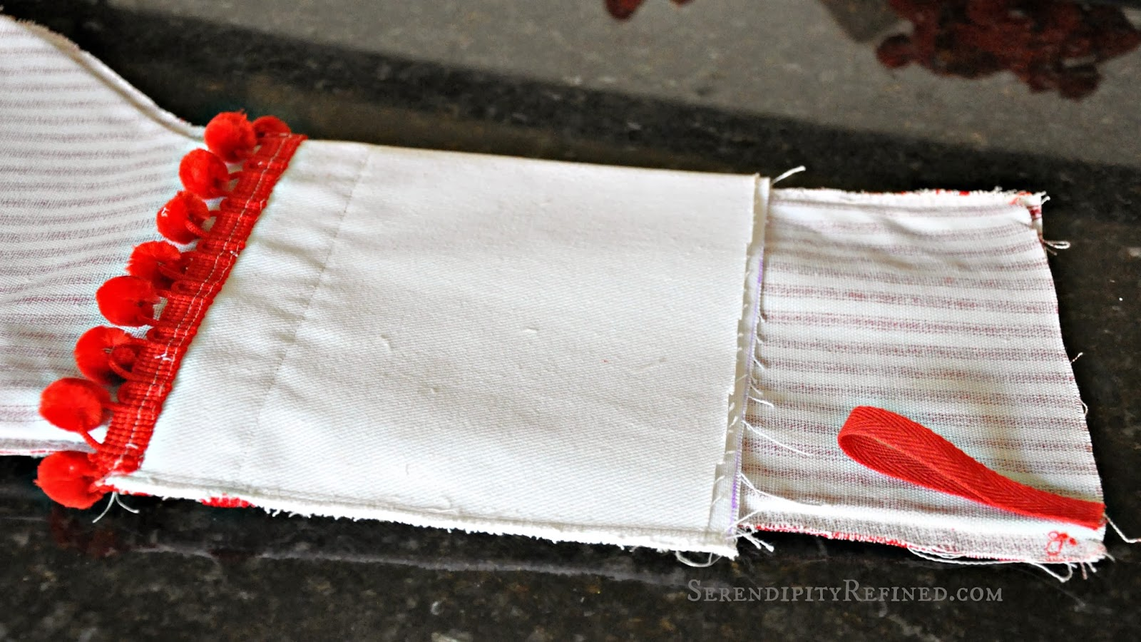 how to make a christmas stocking fox hollow cottage - How To Make A Christmas Stocking