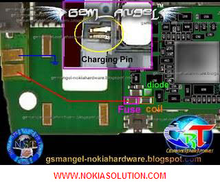 Nokia X3 not charging tested solution