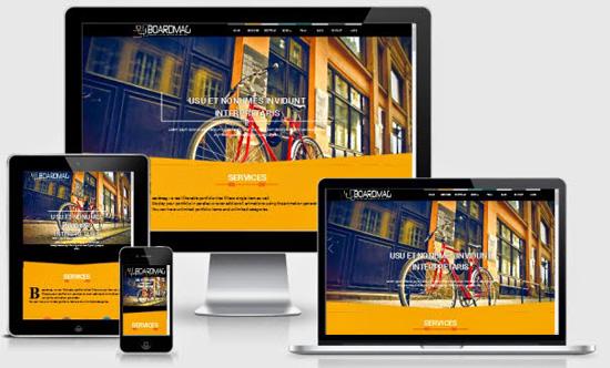 Template Blogspot Parallax Percuma