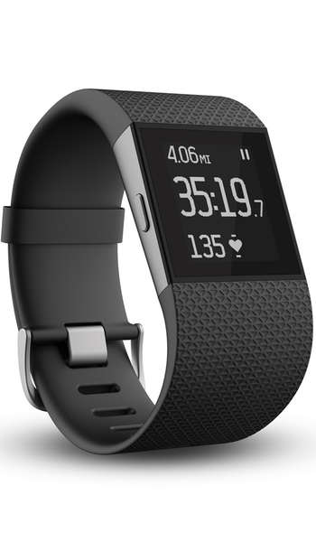 Fitbit 'Surge' Wireless Fitness Watch Black