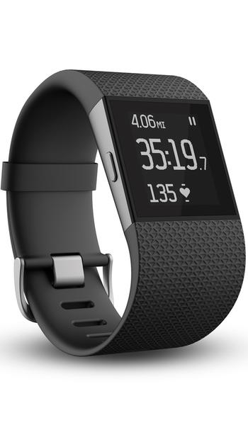 Fitbit 'Surge' Wireless Fitness Watch Black