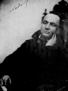 Baudelaire fotografato da Nadar.