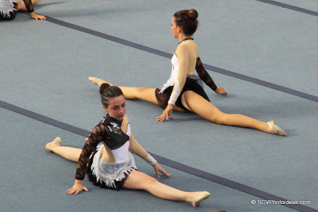 Rhythmic Gymnastics floor exercises