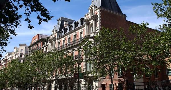Palacetes de madrid casa palacio de d julio castanedo - H m calle orense madrid ...