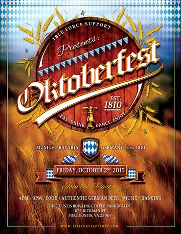 Oktoberfest at Fort Eustis Virginia