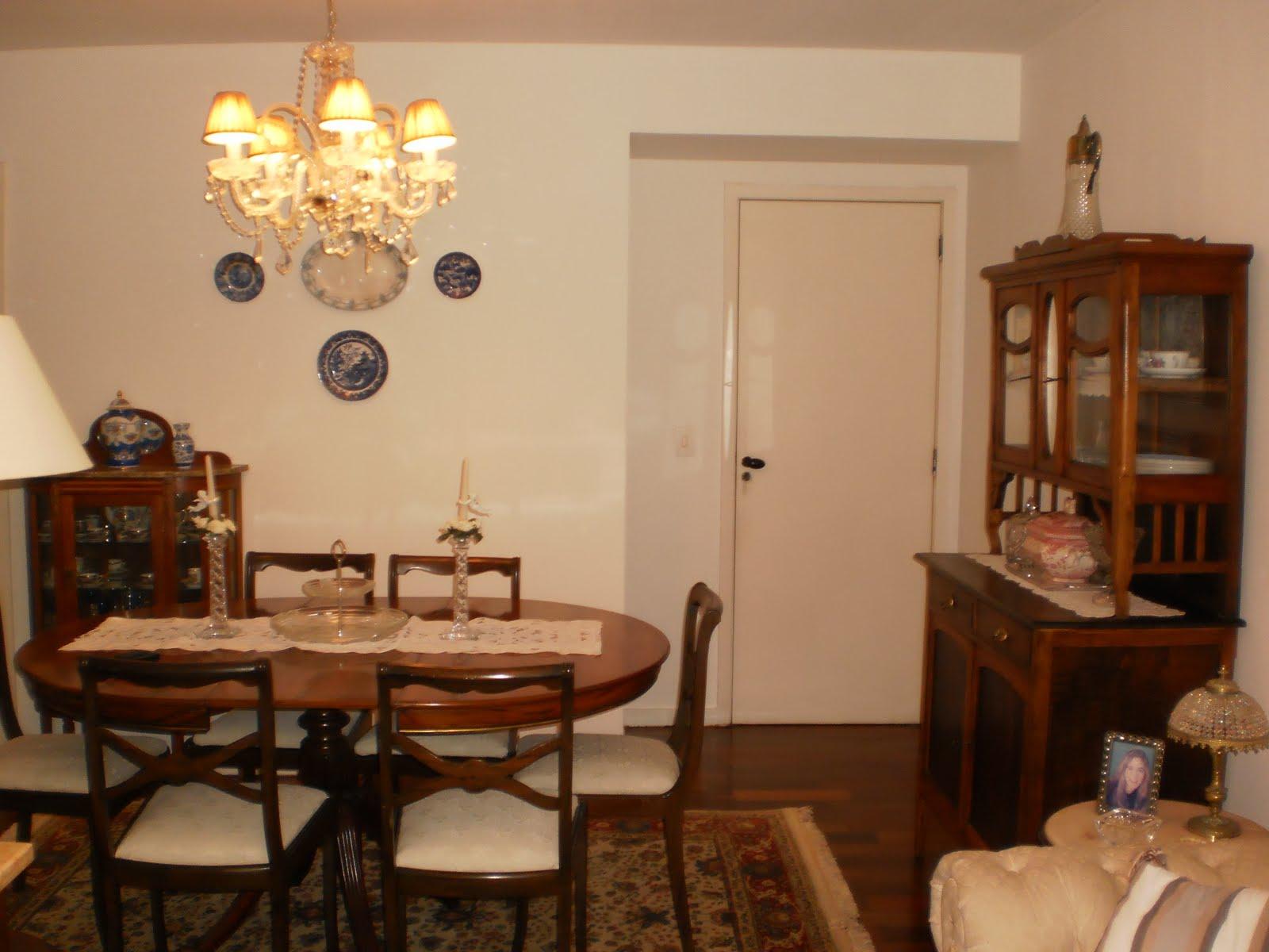Decorando minha casa: Minha sala de estar e de jantar #C68005 1600x1200