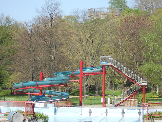 water slide in humboldthain park