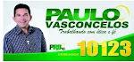 PAULO VASCONCELOS TRABALHANDO COM ÉTICA E FÉ. VEREADOR 10123