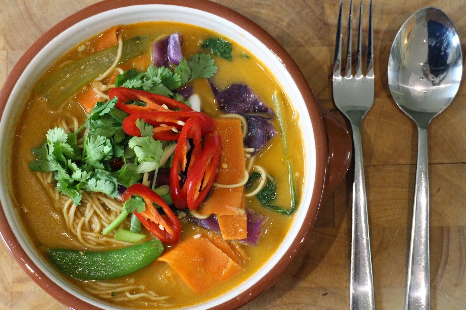 food blog, thai noodle soup, thai recipe, food,