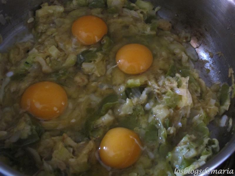 Revuelto de calabacines- aceite mueoliva - tufruteria.es