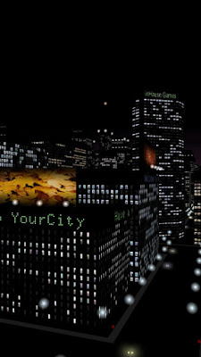 YourCity 3D apk - Aerial night city live walpaper