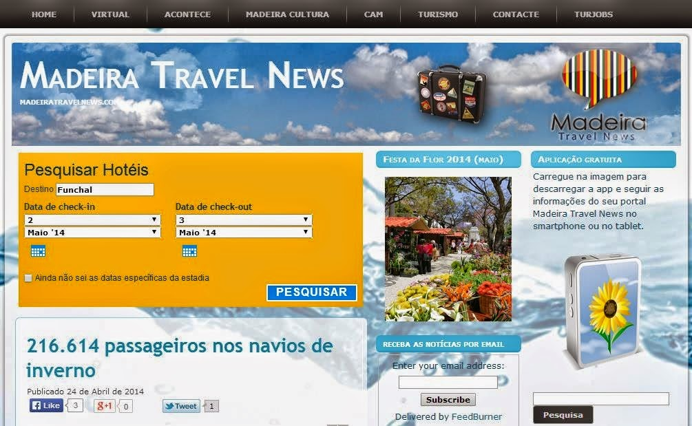 we like Madeira Travel News