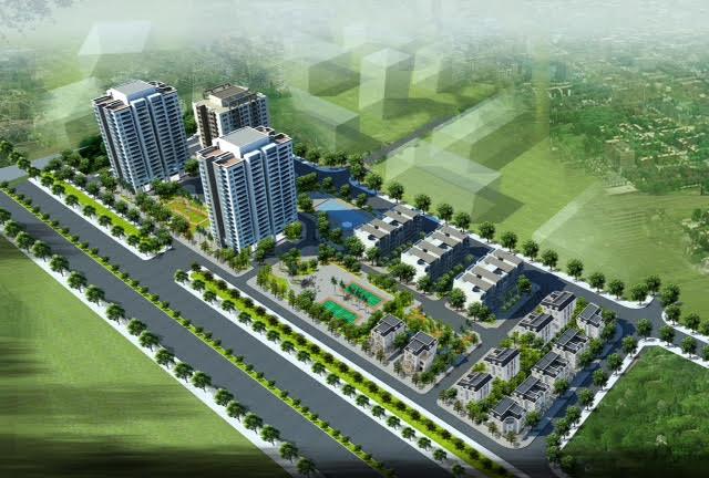 Quy hoạch tổng thể dự án Valencia Garden