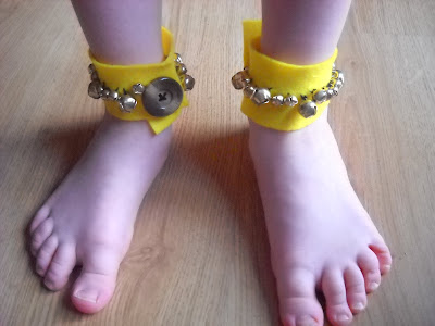 Moje Baranki z dzwonkami na... nóżkach ;-)