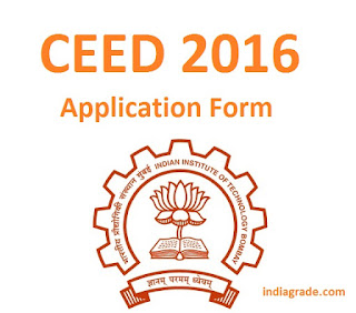 CEED 2016 Application Form
