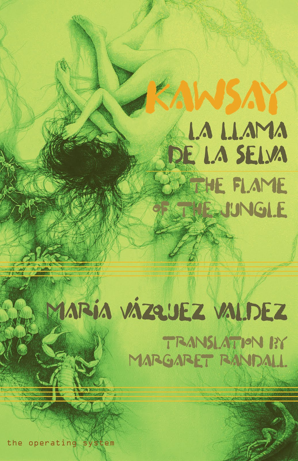 KAWSAY. THE FLAME OF THE JUNGLE