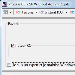 capture d'écran de ProcessKO