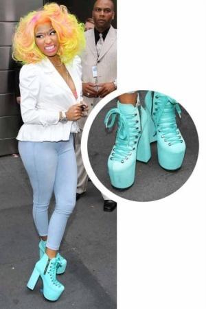 Sepatu Unik Nicki Minaj