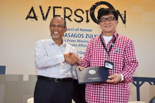 Jackie Chan Singapore Anti-Drug