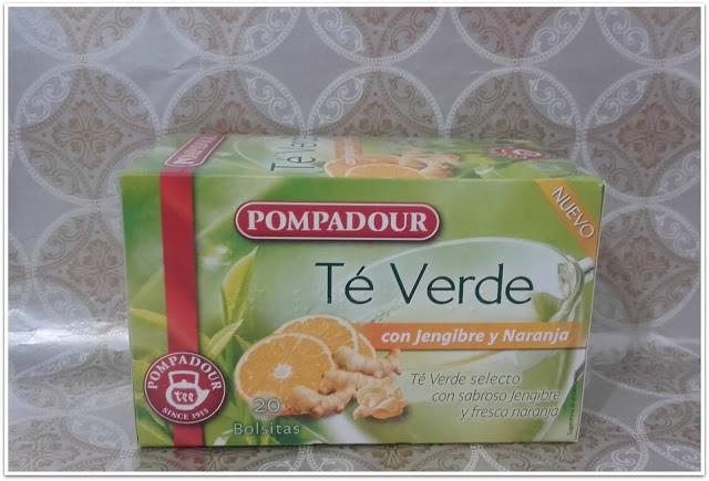 Té verde con jengibre y naranja disfrutabox