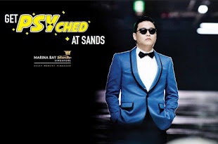 PSY GANGNAM STYLE MARINA BAY SANDS EXCLUSIVE GET PSYCHED WITH OPPA