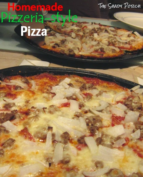 Best Homemade Pizzeria Style Pizza