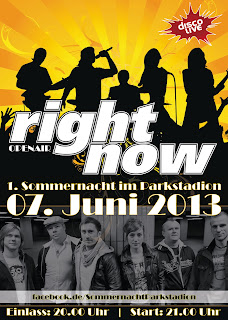 Right Now Die Show- und Partyband, Sommernacht Parkstadion