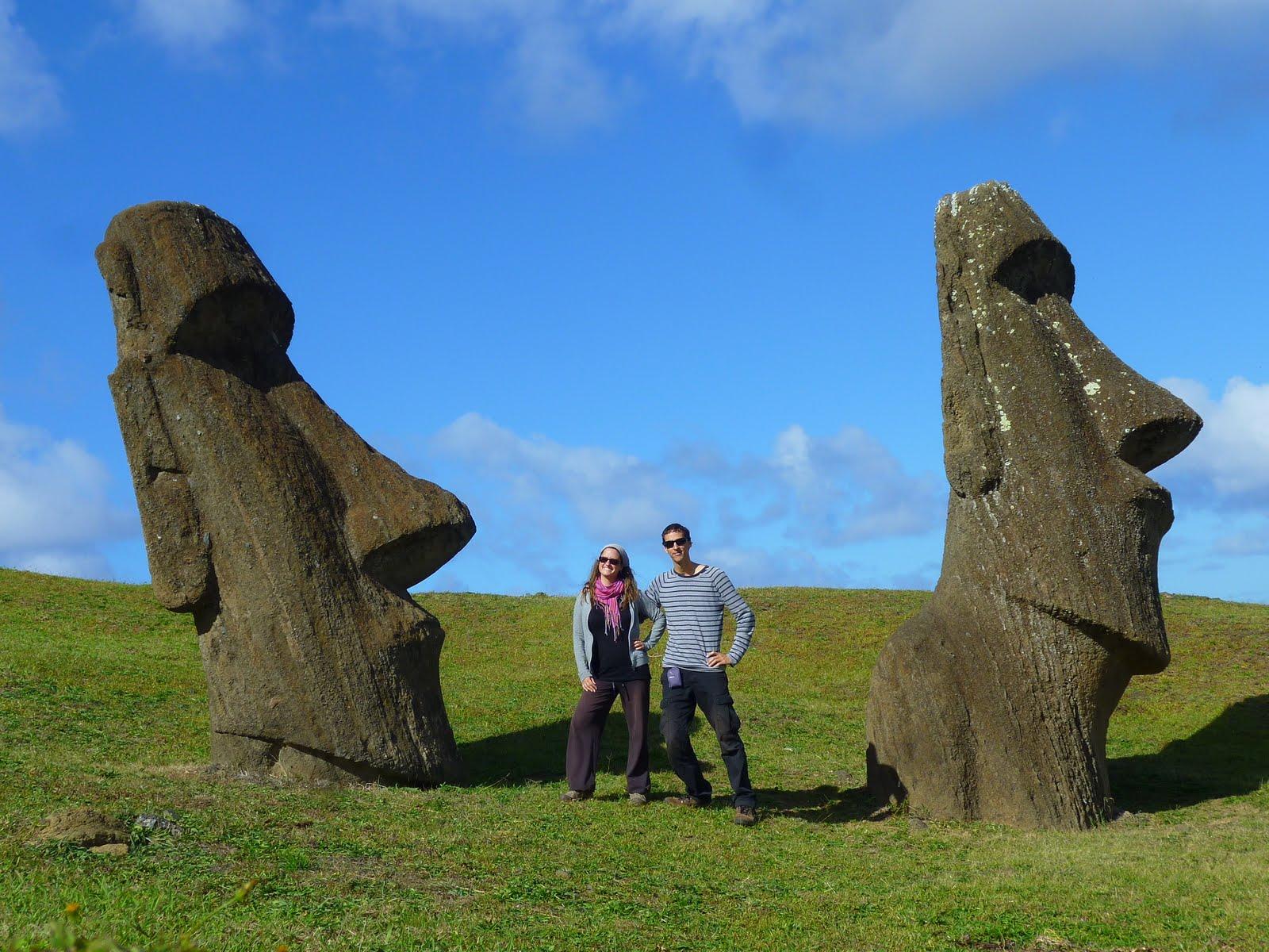Isla de Pascua, Chile, vuelta al mundo, round the world, La Aventura de Pablo y Elena