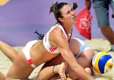 liliana baquerizo spain hot volleyball butt london olympics