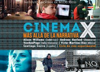 """Ciclo de Cine Experimental """"Cinema X"""" en el Ex Teresa Arte Actual"""