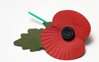 A British Legion Poppy